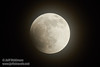 The moon just starting its eclipse through thin clouds (4/15/2014)<br /> EF400mm f/5.6L USM +2.0x @ 800mm f11 1/200s ISO1000