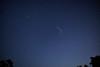 Perseid meteor cloud