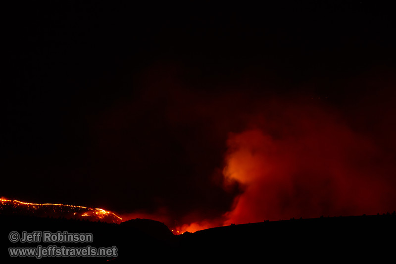 Wildfire burning north of our camp site (8/17/2017, 6152 Northwest Danube Dr., Madras eclipse trip)<br /> EF100-400mm f/4.5-5.6L IS II USM @ 400mm f7 4s ISO400