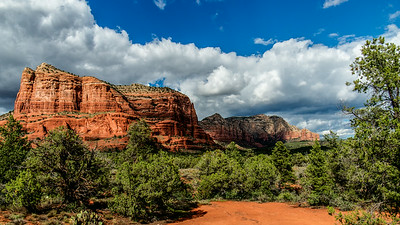 Sedona AZ area - August 22, 2014.