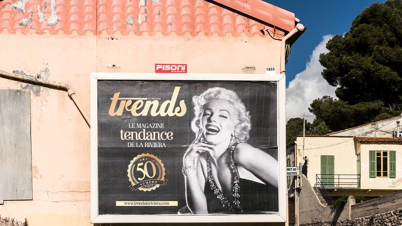 Marilyn Monroe - Cap D'Ail 2018