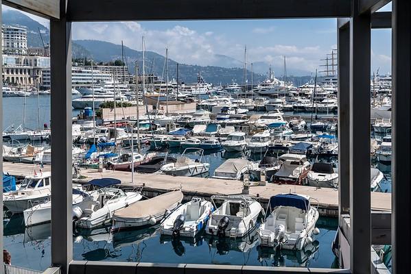First View over Port Hercule - Monaco Historic GP 2018