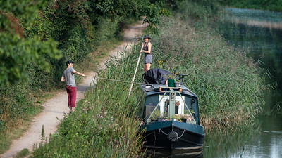 From Shepherds Bridge - Kennet and Avon Canal - nr Kintbury