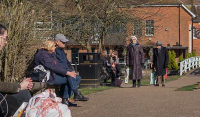 Revised view at the Town Lock Pre Lockdowns - Newbury Berkshire