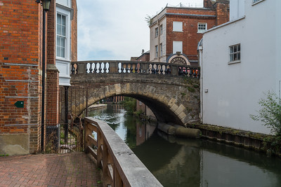 Newbury Town Popular View - Nikon 35mm OC MF