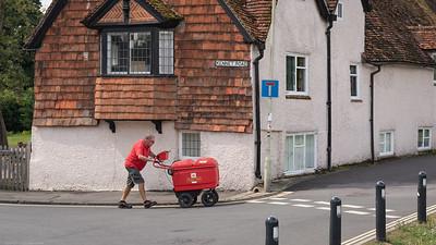 Kennet Road Postman - Newbury Berkshire