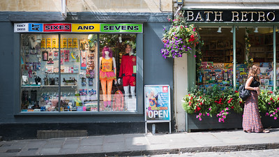 Fancy Dress - Bath - 5th August 2018