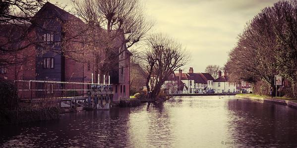 Newbury Lock to West Mills -  Kennet & Avon Canal Newbury