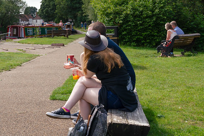 Watching the Canal Boats go by
