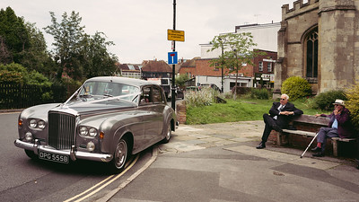 The 1964 Bentley - West Mills Wedding