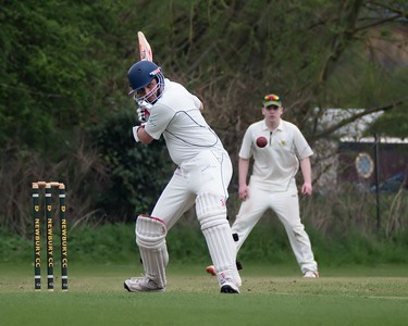 Newbury Cricket Club in Action
