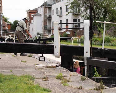 In the lock - Kennet and Avon Canal Newbury