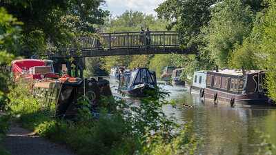 Busy Day on the Kennet and Avon Canal