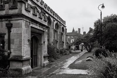 Church Rained - Newbury