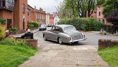 The 1964 Bentley S3 - West Mills Wedding