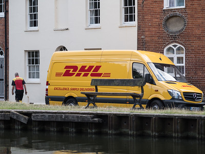DHL - Excellence Simply Delivered - West Mills Newbury 2018-2