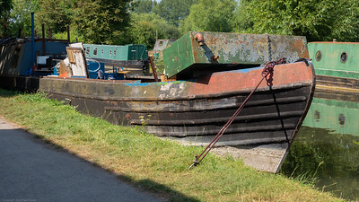 A Working Barge - Kennet and Avon Canal Newbury