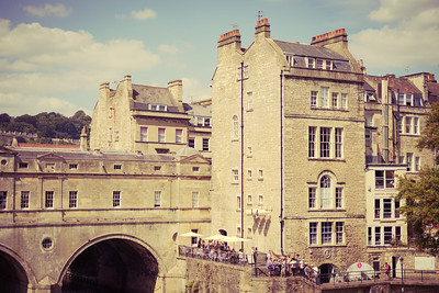 pulteney Bridge Bath - Vintage
