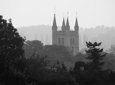 St Nicholas Church Newbury from Goldwell Park