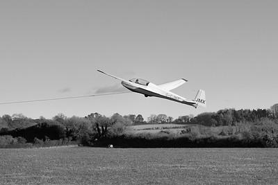 Shalbourne Glider takeoff
