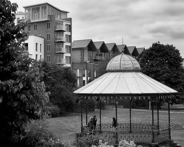 Newbury View, Old and New - The Bandstand
