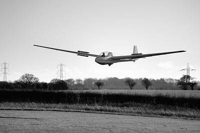 Gliding Landing at Shalbourne