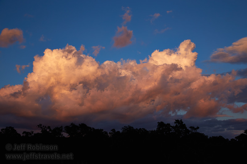 Clouds to the east at sunset (5/25/2016, my field)<br /> EF24-105mm f/4L IS USM @ 45mm f8 1/125s ISO100