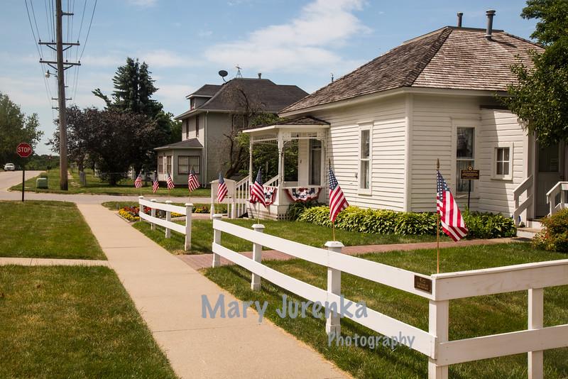 John Wayne Birthplace in Winterset, Iowa
