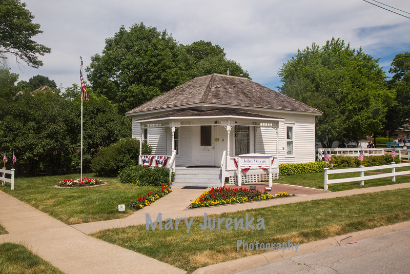 John Wayne Birthplace in Winterset, Iowa