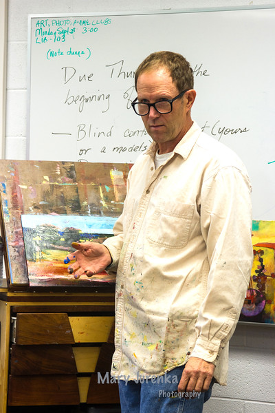 Visiting Artist at Iowa Central Community College