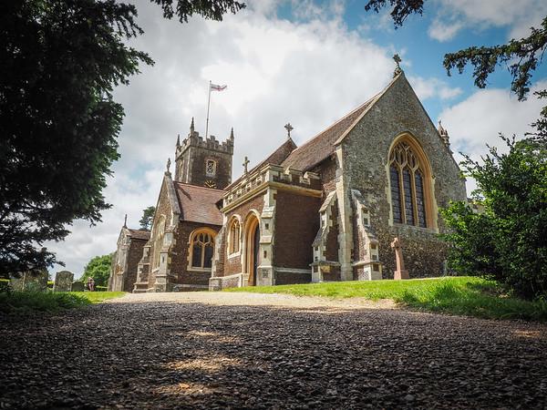 St Mary Magdalene Church.