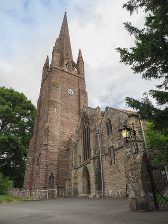 The 13th century Church, St Peter and St Paul's Church.