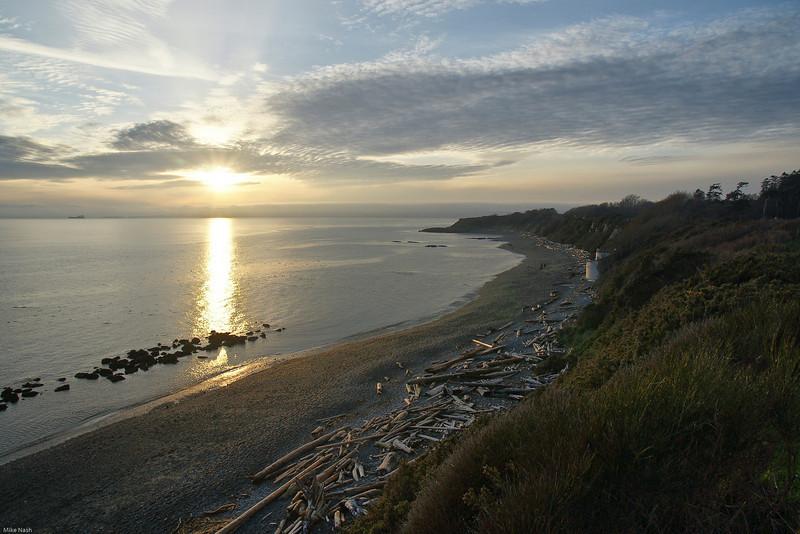 Beachscape, near Clover Point, Victoria, B.C.