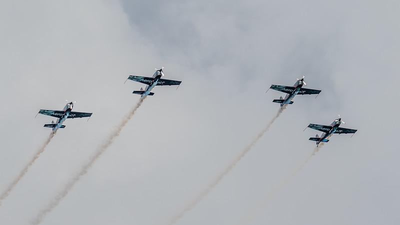 JD2A0179  The Blades aerobatics team (using Extra EA-300L planes)