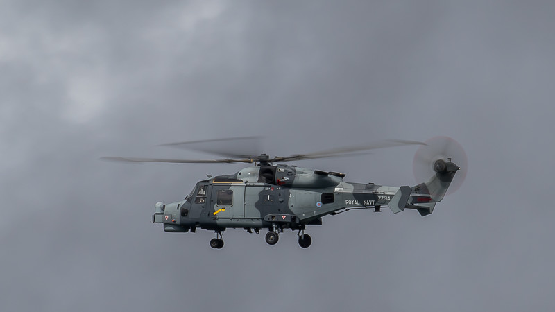 JD2A0090  Royal Navy Westland Wildcat Helicopter