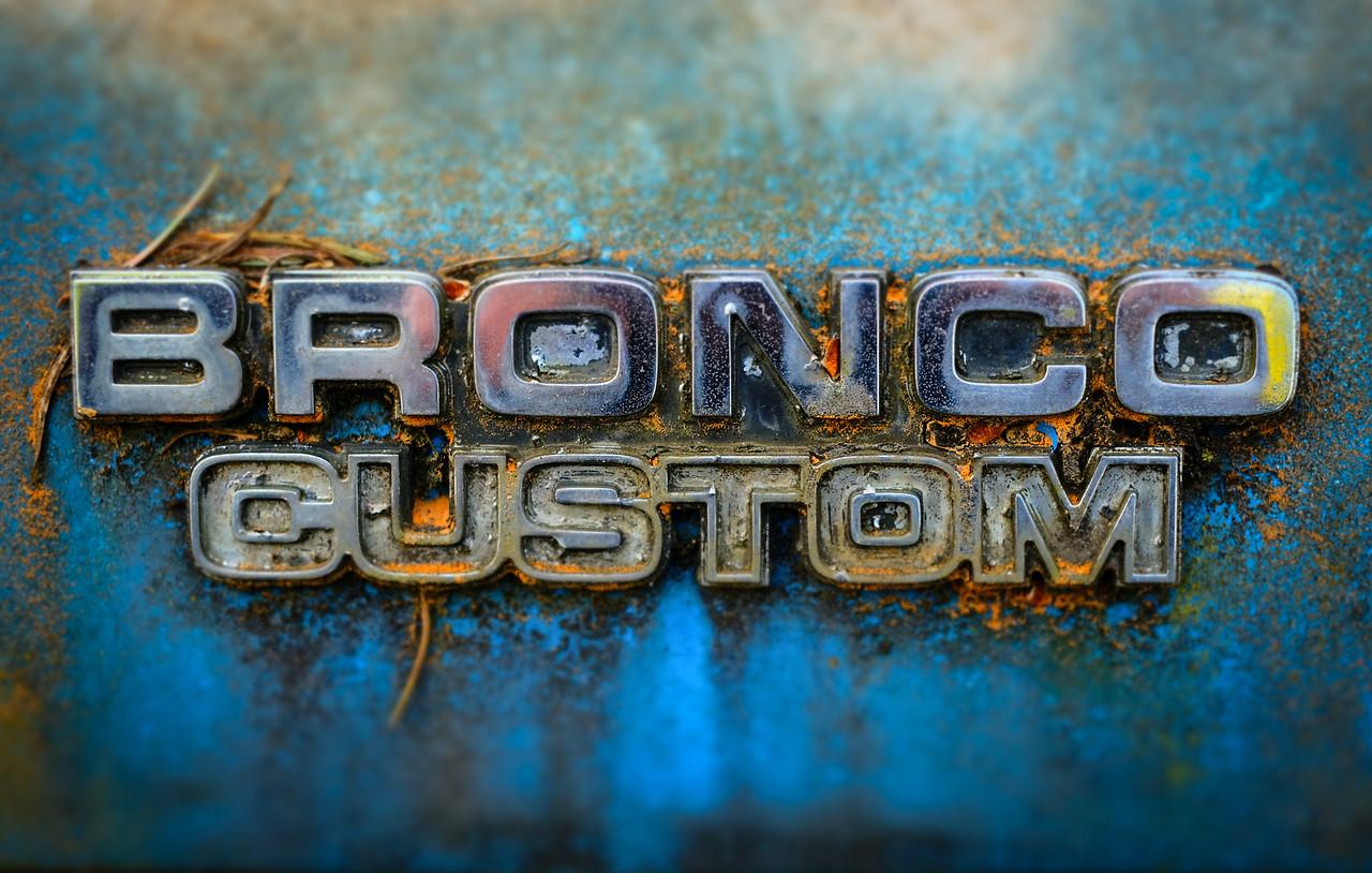 Bronco Custom | Seattle, WA | May 2018