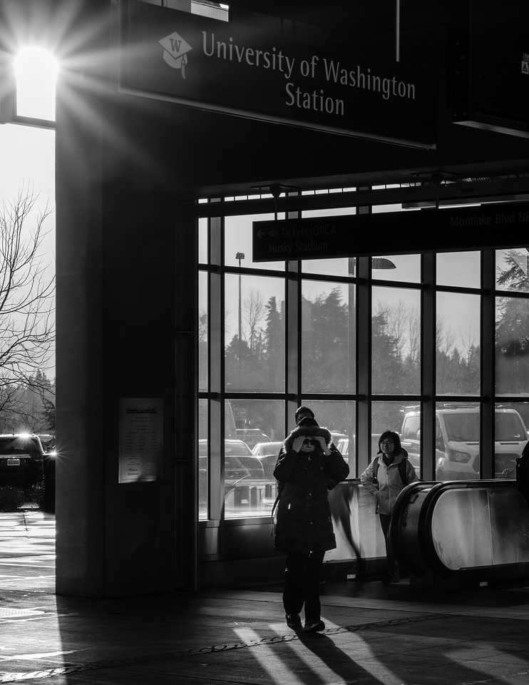 Into the light | Seattle, WA | January 2018