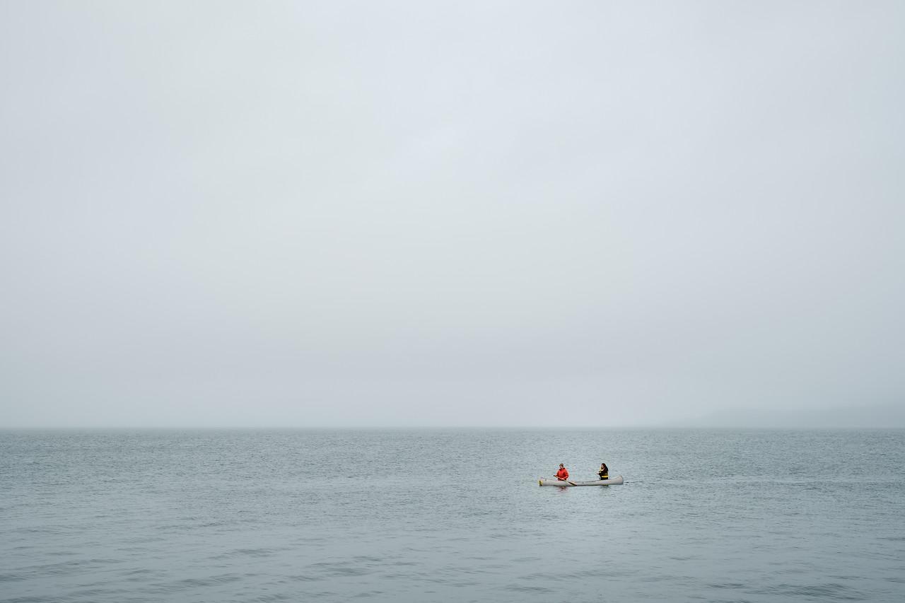 Canoers at Alki | Seattle, WA | February 2018