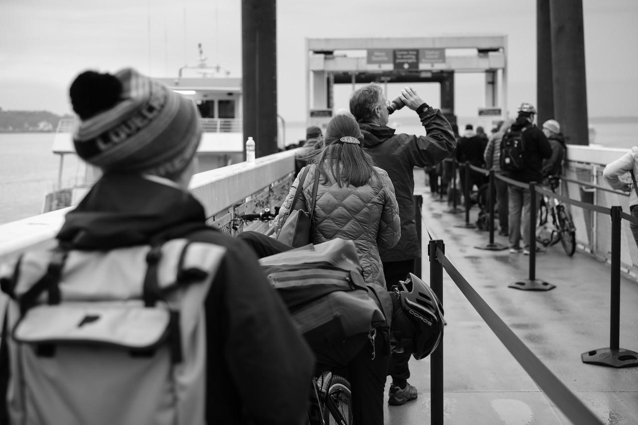 Afternoon commute | Seattle, WA | January 2018