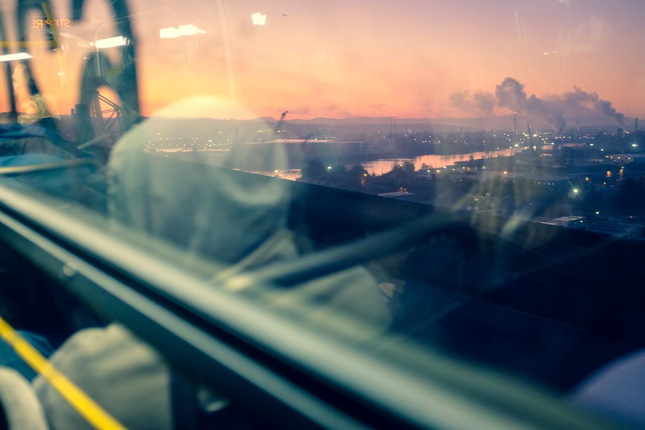 Morning commute | Seattle, WA | October 2017