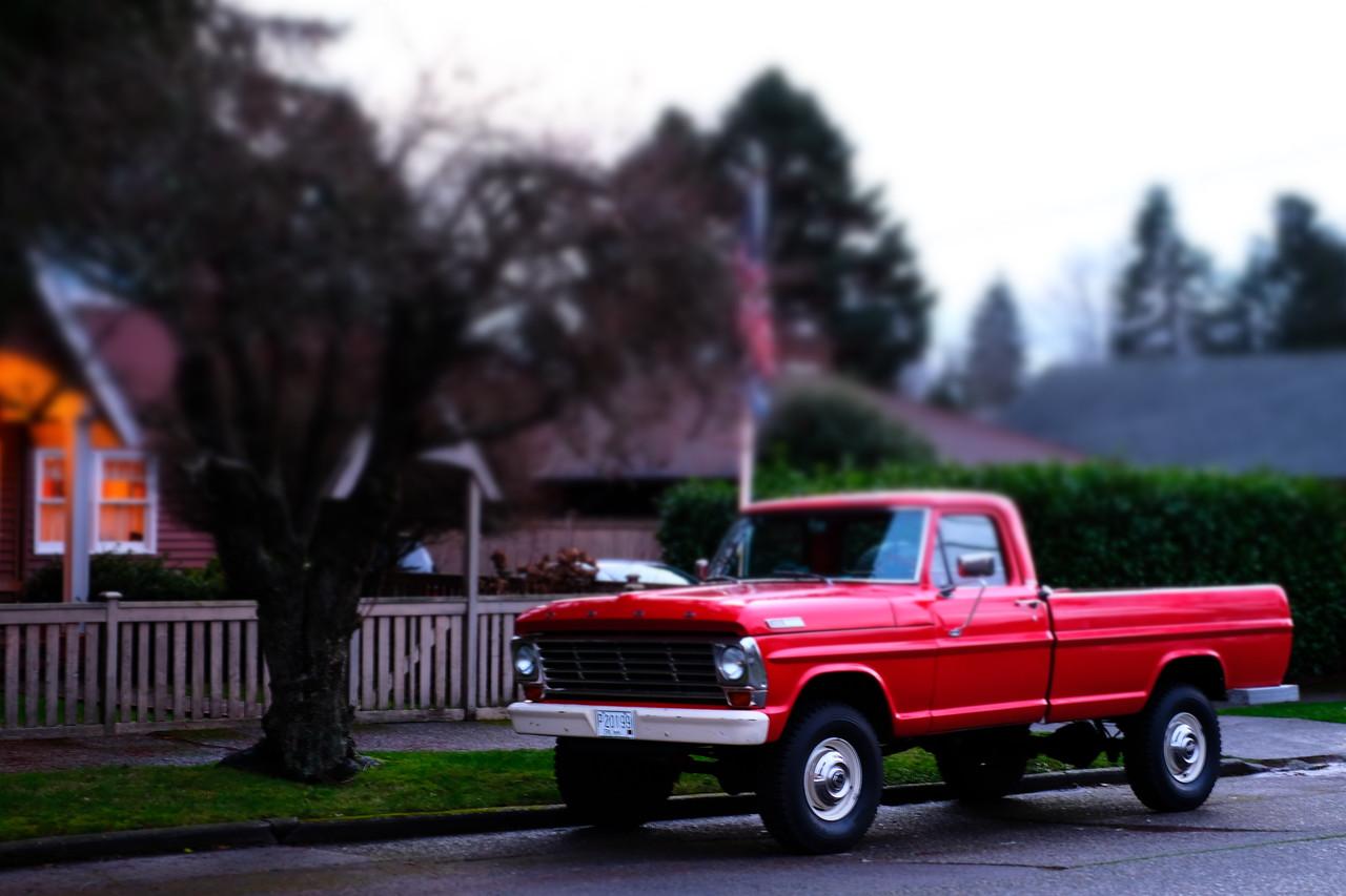 Red Ford | Seattle, WA | January 2018