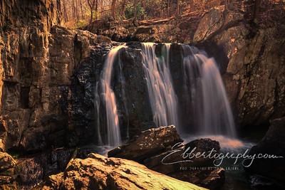 Sunset at Kilgore Falls
