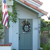You'll notice a lot of these houses fly flags.  TLO reminded me there are a lot of retired admirals living out there.