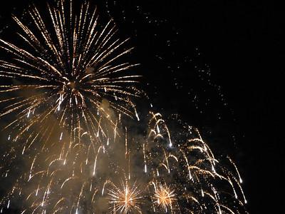 Fireworks Over Sea World, 8-15-12