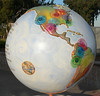 I like this globe -- look at those swirly thingies.  Cool.