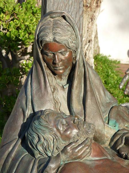 another Pieta, in bronze