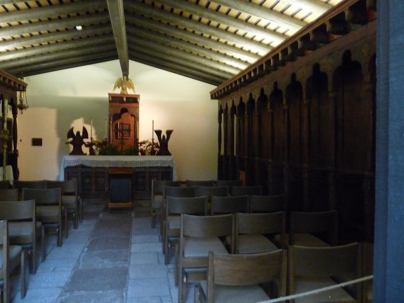 from the Chapel doorway
