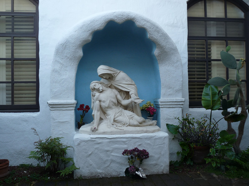 The Pieta Garden