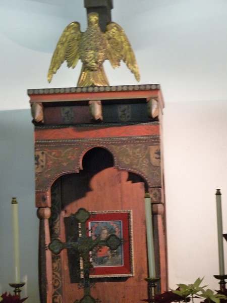 the Chapel alter
