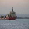a research vessel